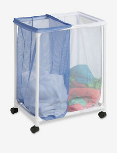 Honey-Can-Do 2-Bag Mesh Laundry Sorter