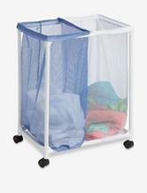Honey-Can-Do 2-Bag Mesh Laundry Sorter