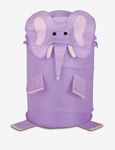 Honey-Can-Do International Purple Laundry Hampers