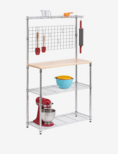 Honey-Can-Do 2-Shelf Urban Baker's Rack