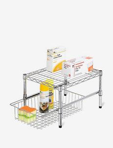 Honey-Can-Do Adjustable Shelf Cabinet Organizer