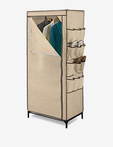 """Honey-Can-Do 27"""" Storage Closet With Shoe Organizer"""