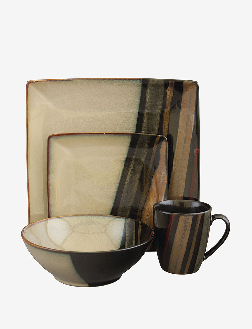 Sango Black Dinnerware Sets Dinnerware