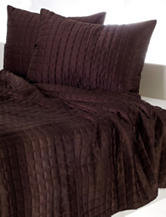 Rizzy Home Diamond Quilted Bed Set – Chocolate