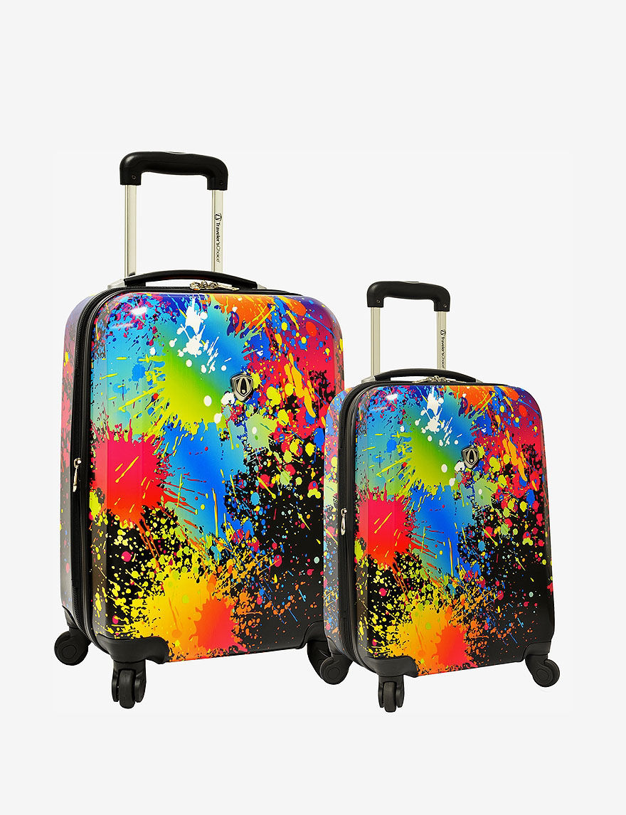 Black Luggage Sets Upright Spinners