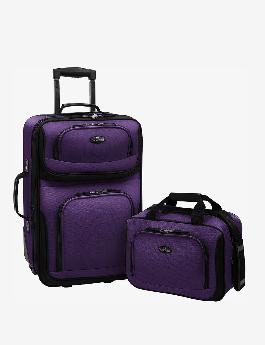 U.S. Traveler Purple Luggage Sets