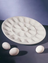 10 Strawberry Street Whittier Egg Platter