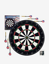 Pro Style Bristle Dart Board Set With 6 Darts