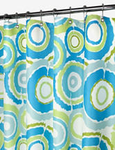 Park B. Smith Watershed® Groovy Circles Shower Curtain
