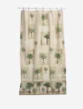 Bacova Guild Citrus Palm Shower Curtain