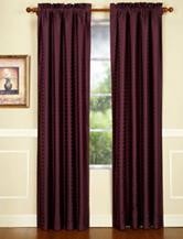 """HFI Concentric Plum 84"""" Panel Curtain"""
