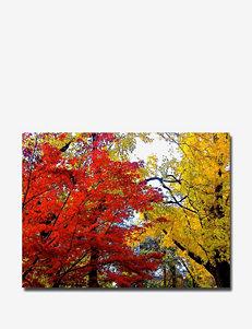 Trademark Fine Art Ariane Moshayedi 'Fall Mashup' Canvas Art