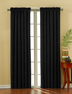 Eclipse Black Curtains & Drapes Window Treatments