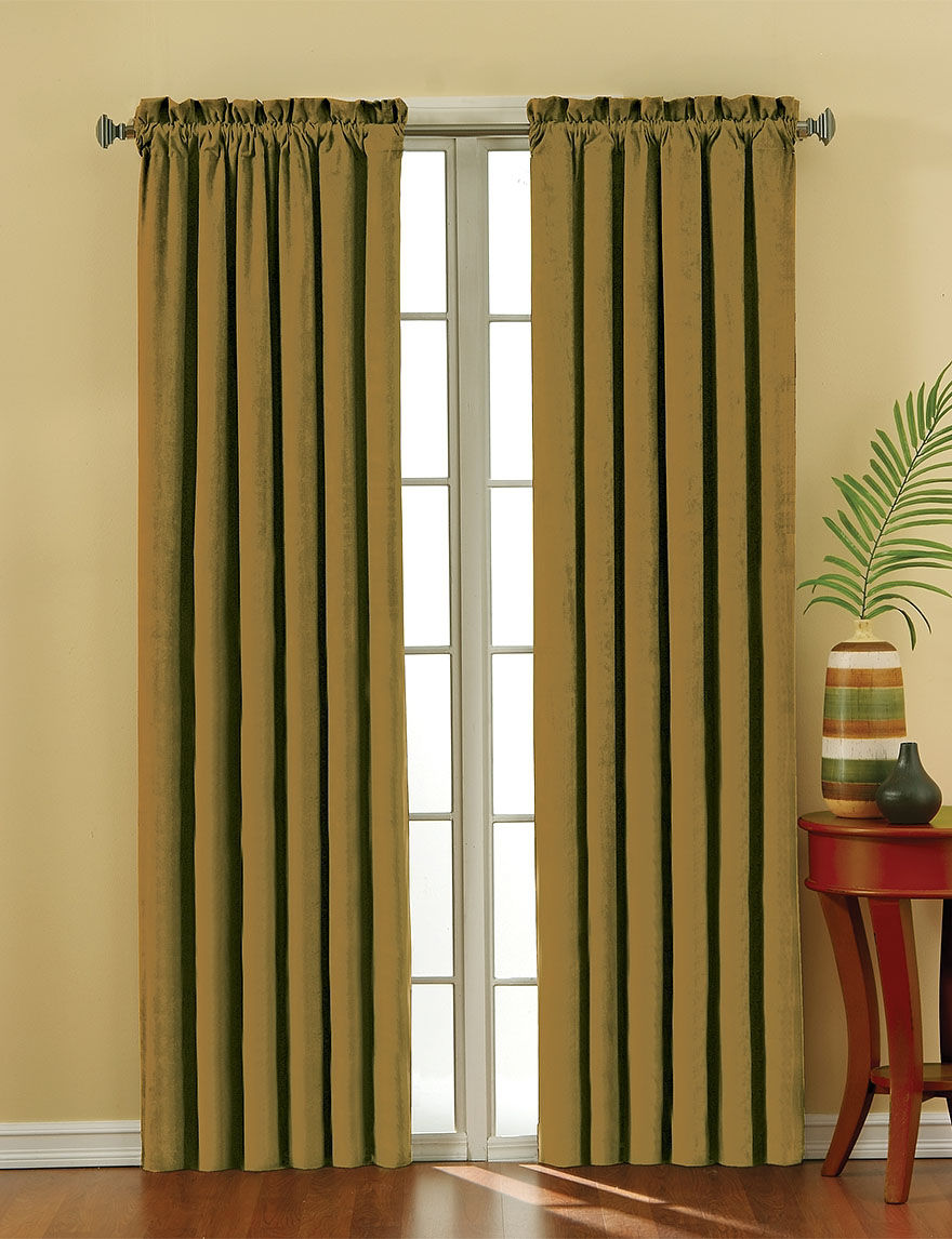 Eclipse Gold Curtains & Drapes