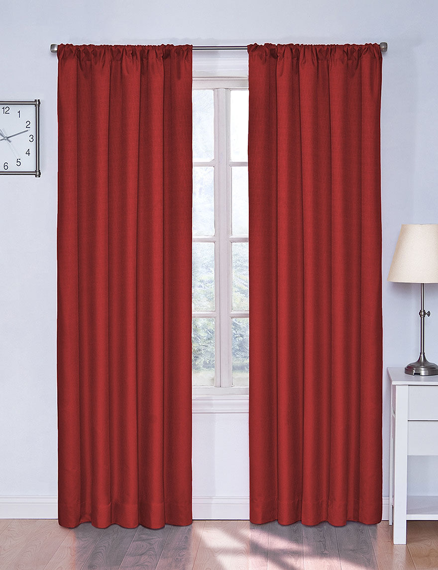 Eclipse Orange Curtains & Drapes