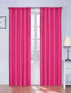 Eclipse Raspberry Curtains & Drapes Window Treatments
