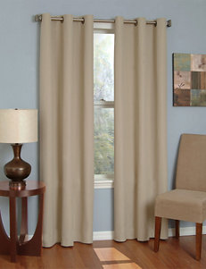 Eclipse Beige Curtains & Drapes Window Treatments