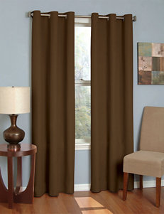 Eclipse Brown Curtains & Drapes Window Treatments