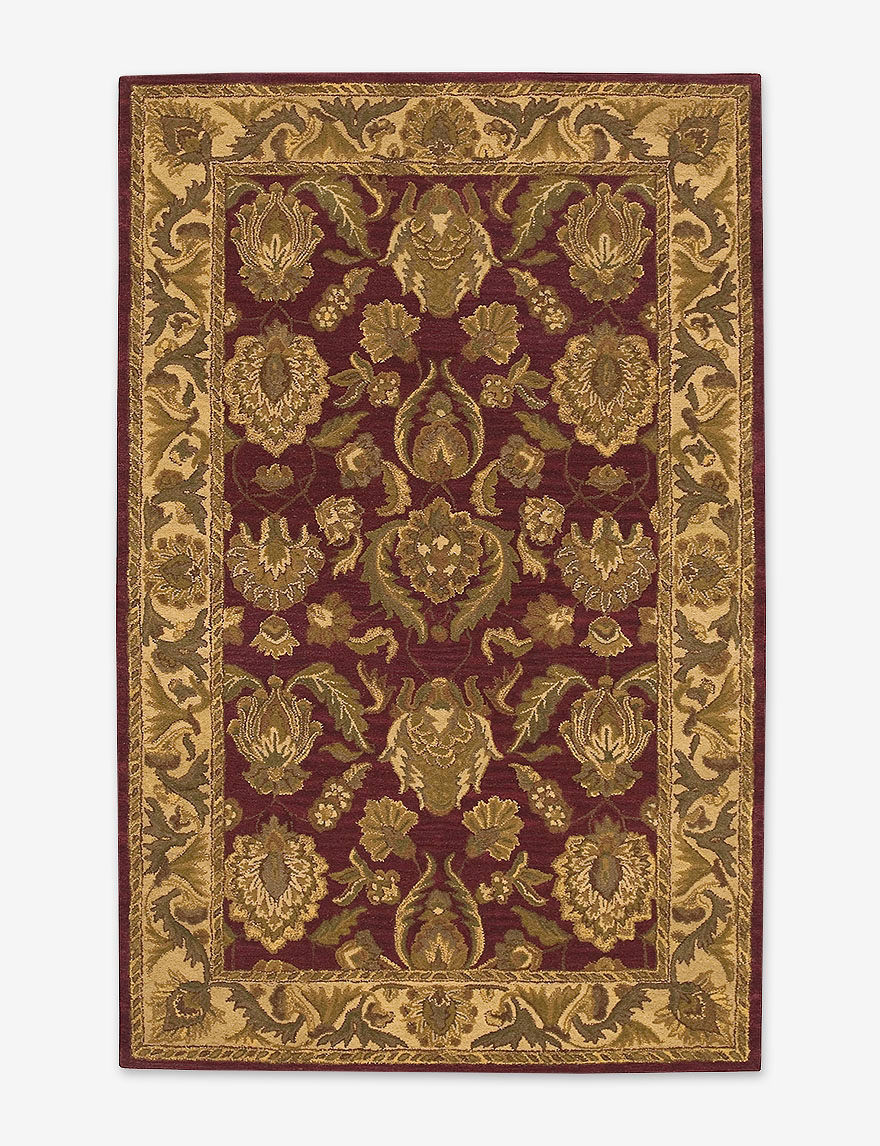Nourison Burgundy Area Rugs Rugs