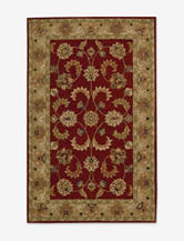 Nourison India House Traditional Red & Gold Rug