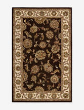 Nourison India House Traditional Chocolate Rug