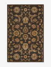 Nourison India House Paisley Charcoal Rug