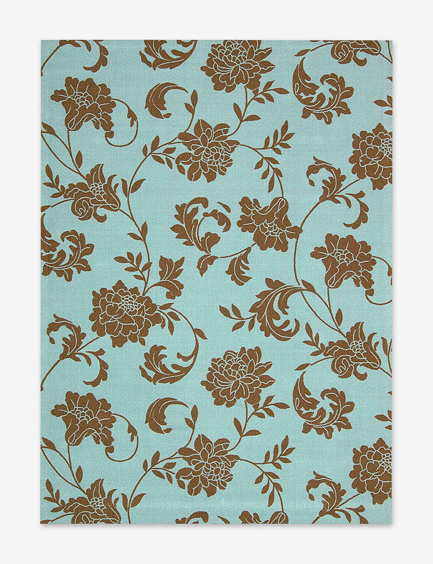 Nourison Light Blue Area Rugs Rugs