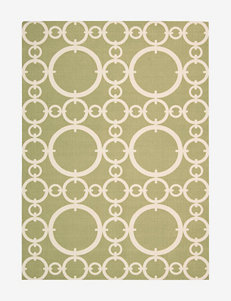 Nourison Waverly Sun 'N' Shade Geometric Citrine Rug