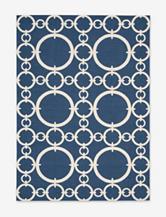 Nourison Waverly Sun 'N' Shade Geometric Navy Rug