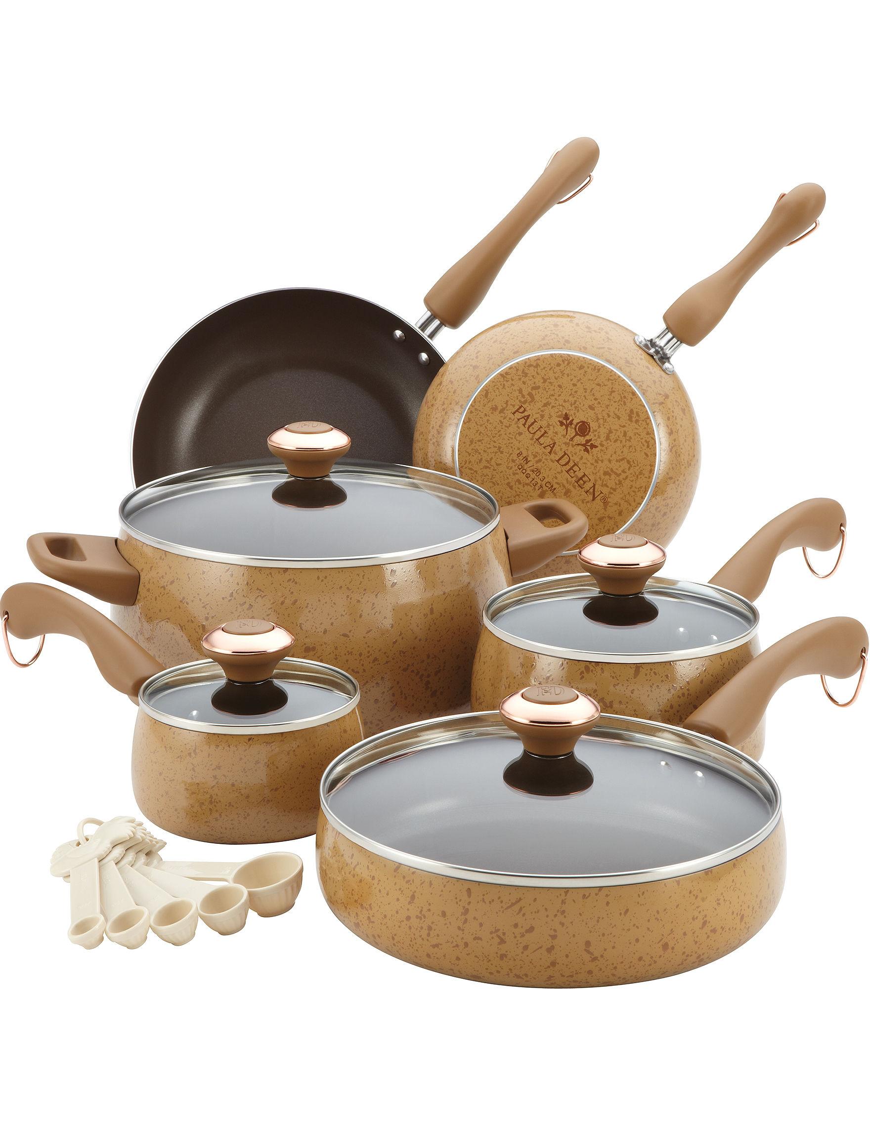 Paula Deen Yellow Cookware Sets Cookware