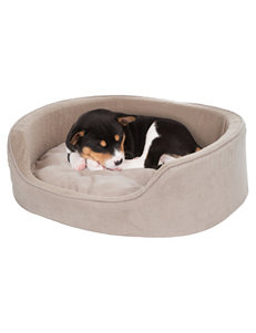 PAW Snuggle Round Suede Terry Pet Bed – Medium