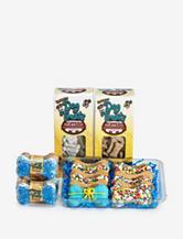 Foppers 178-pc. Blue Happy Birthday Dog Treat Gift Set