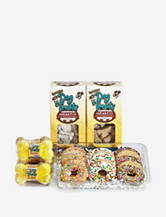 """Foppers 174-pc. """"Dogs Go Nuts for Donuts"""" Dog Treat Gift Set"""