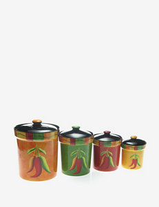 Certified International Caliente 4-pc. Canister Set