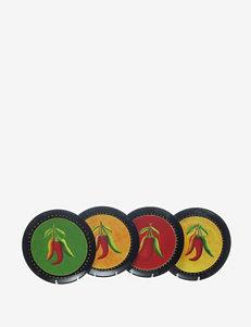 Certified International Caliente 4-pc. Salad Plate Set