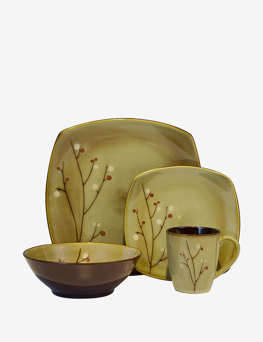 Sango Brown Dinnerware Sets Dinnerware