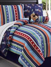 Victoria Classics Dog Reversible Comforter Set