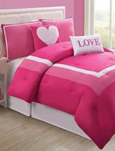Victoria Classics Hotel Pink Love Bedding Set