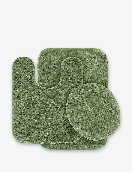 Garland Rug Green Bath Rugs & Mats