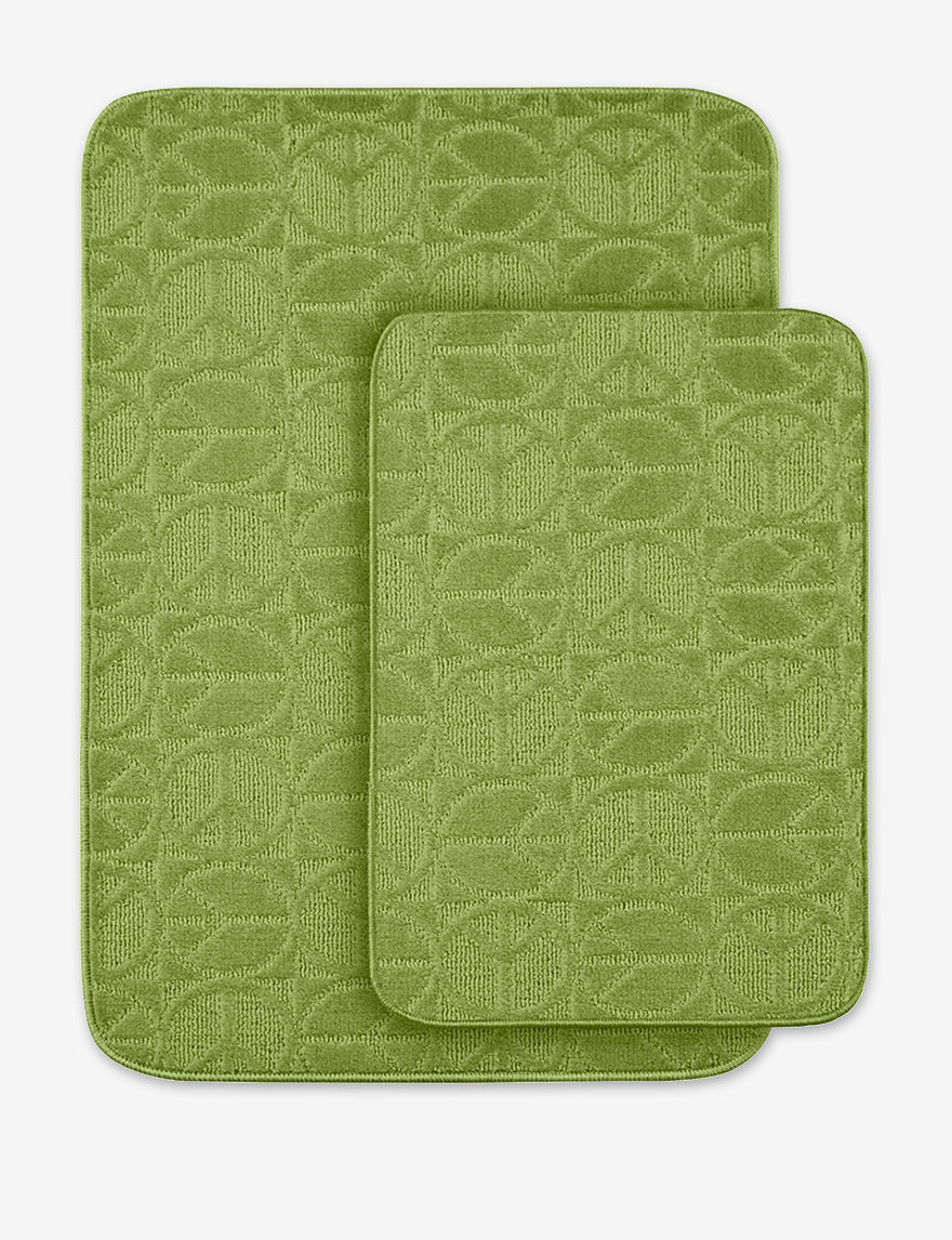 Garland Rug Lime Bath Accessory Sets Bath Rugs & Mats