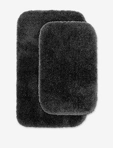 Garland Rug Dark Grey Bath Rugs & Mats