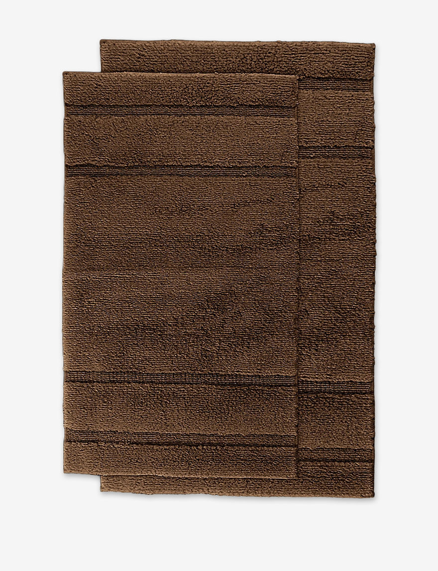 Garland Rug Brown Bath Rugs & Mats