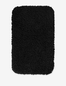 Garland Rug Black Bath Rugs & Mats