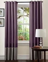Lush Decor Prima Grey & Purple Window Curtain