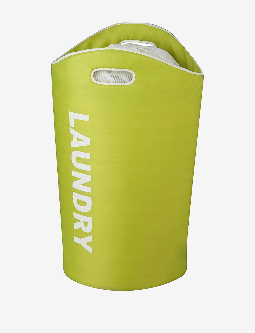 Honey-Can-Do International Green Laundry Hampers Irons & Clothing Care