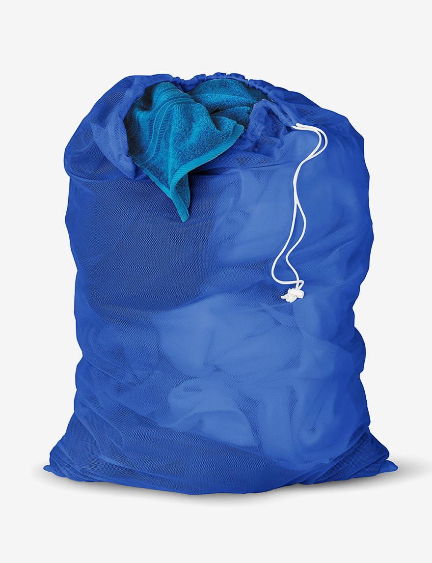 Honey-Can-Do International Blue Wastebaskets Storage & Organization
