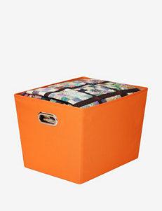 Honey-Can-Do International Bright Orange Cubbies & Cubes Storage & Organization