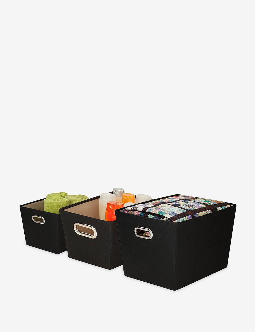 Honey-Can-Do International Black Cubbies & Cubes Storage & Organization