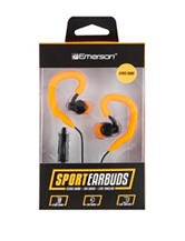 Emerson Orange Sport Earbuds