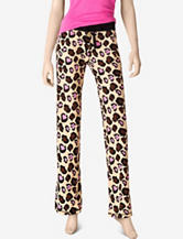 Wishful Park Leopard Print Pajama Pants – Juniors
